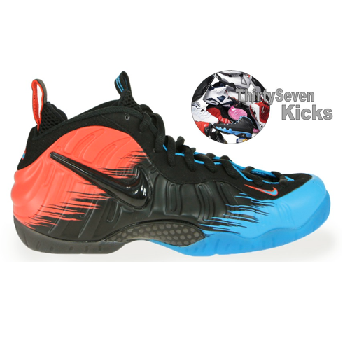 "Image of Foamposite Pro ""Spiderman"" Preorder"