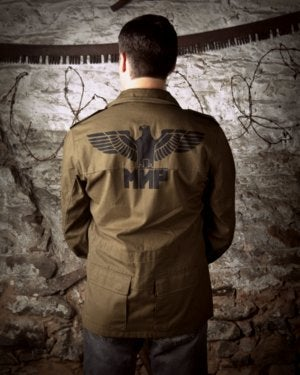 Image of SH94 [MIR EAGLE] Vintage Russian Spetsnaz Jacket