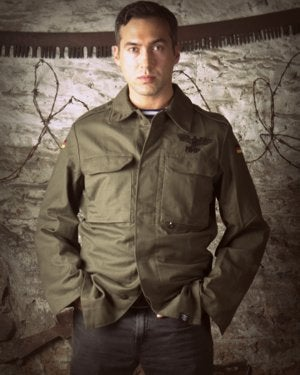 Image of SH96 [SHTRAFBAT227] Vintage German Army BDU Jacket