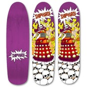 "Image of Shipyard Skates ""Mutiny of Skaro"" deck"