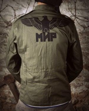 Image of SH42 [BLACK EAGLE] Vintage Military Bomber Jacket