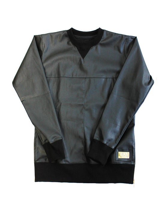 Image of Leather Sweater