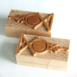 Image of MWT Line Ornament #30 pair