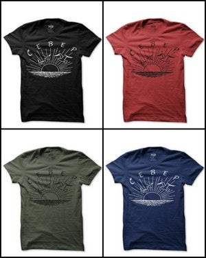 Image of MIR033 CEBEP / Freedom North T-Shirt (7 COLORS)