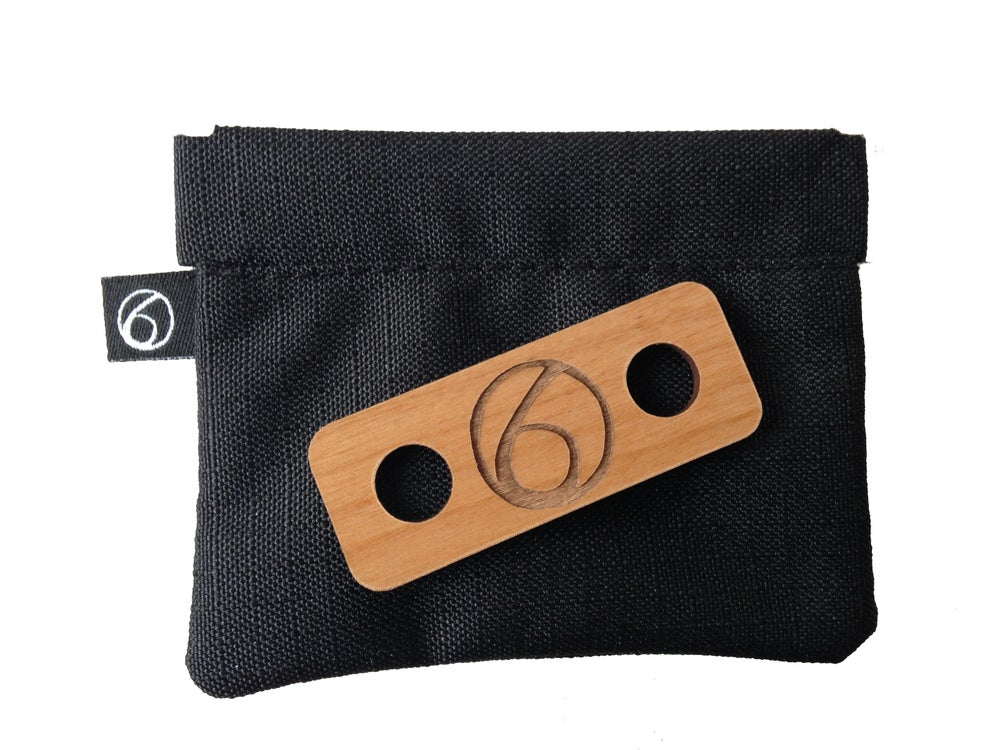 Image of The Earphone Bag with Loop Tag and Slack Winder