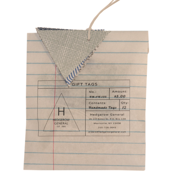 Image of Gift Tags - Security Patterns