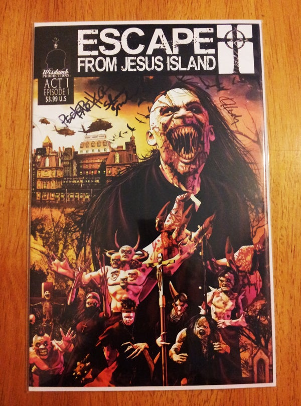 Image of Escape From Jesus Island Comic Book, Episode #1