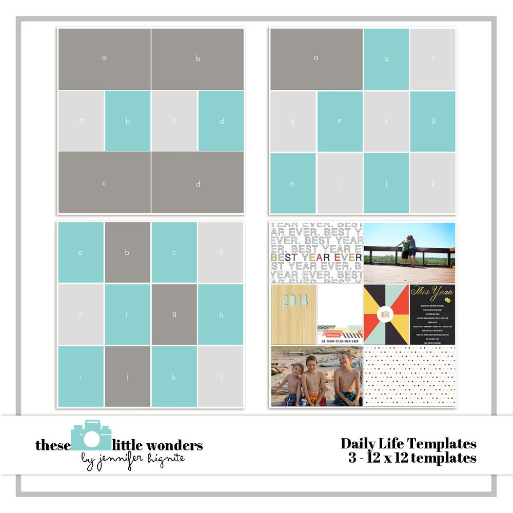 Daily life templates jennifer hignite designs for Big cartel store templates