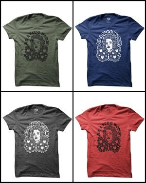 Image of MIR013 FREE WOMAN T-Shirt (7 COLORS)