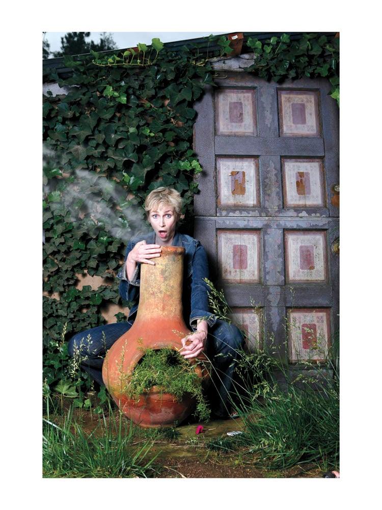 "Image of Jane Lynch 18""x24"" Print"