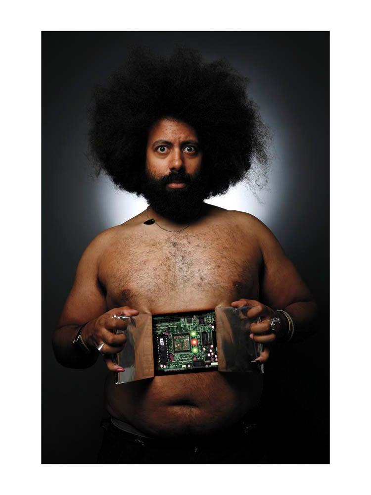 "Image of Reggie Watts 18""x24"" Print"