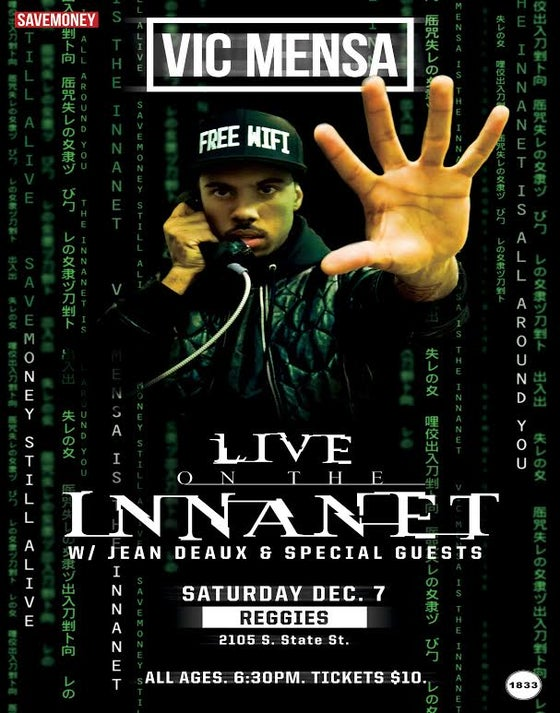 Image of Live On The Innanet Poster