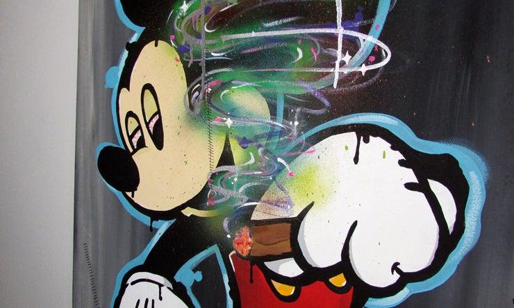 Image of R2G2 MICKEY ART PIECE