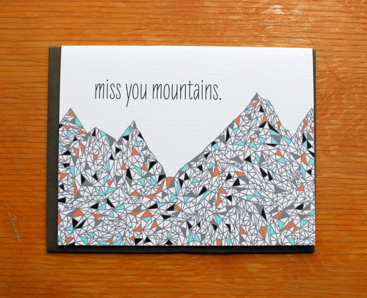 Image of miss you mountains