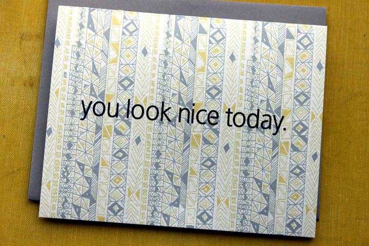 Image of you look nice today