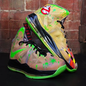 "Image of Nike Lebron 10- ""Ghostbusters"" Custom"
