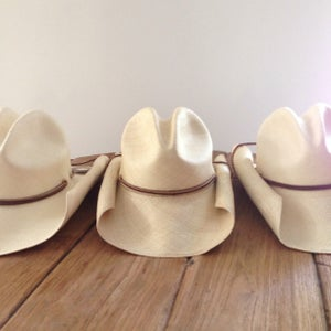 Image of Panama Cowboy Hat - Natural