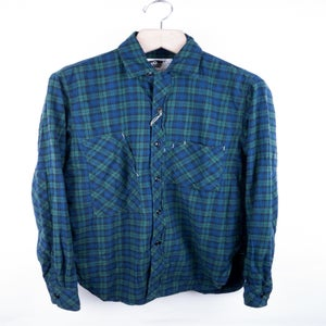 Image of Engineered Garments - Blackwatch Tartan Miner's Shirt