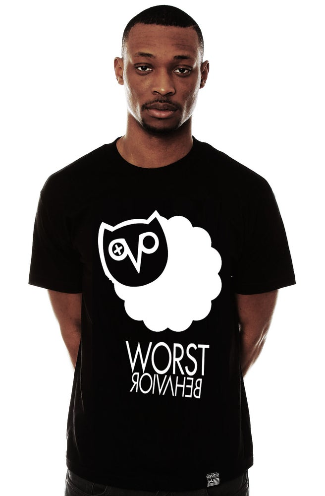 """Image of Blvcksheep """"Worst Behaviour"""" Tee (White & Blvck Available)"""