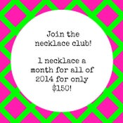 Image of 2-Payment Plan: The Necklace Club