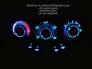 Image of Metal Machined '00-07 Focus AC knobs