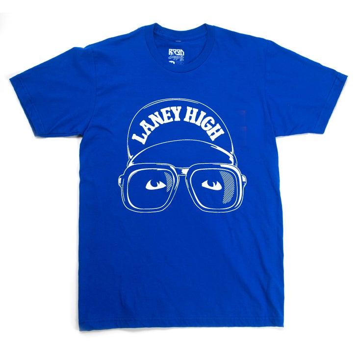 "Image of ""Laney High"" Shirt - Blue"