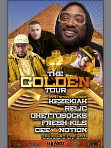 Image of HEZEKIAH - THE GOLDEN TOUR