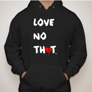 "Image of Black ""Love No Thot"" Hoodie"