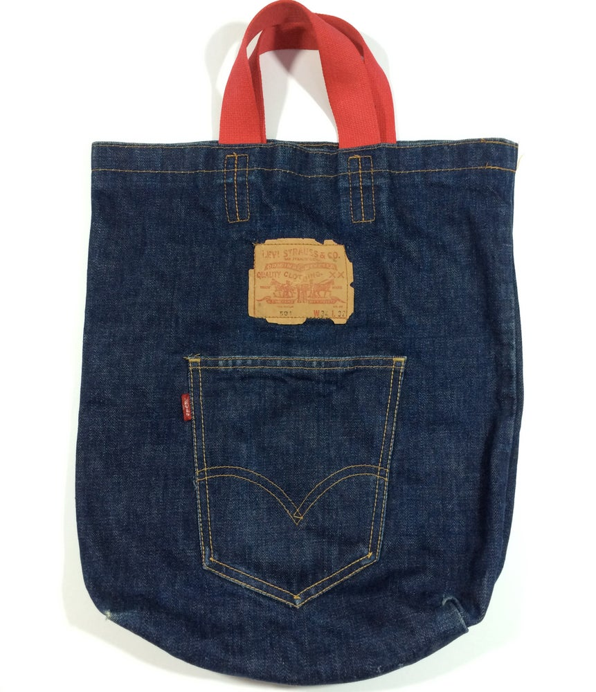 Image of Vintage Levi's denim tote bag