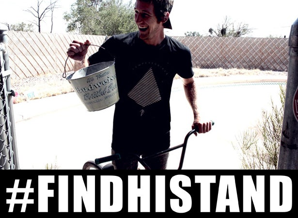 Image of #FINDHISTAND Sticker ($3.00 Donation)