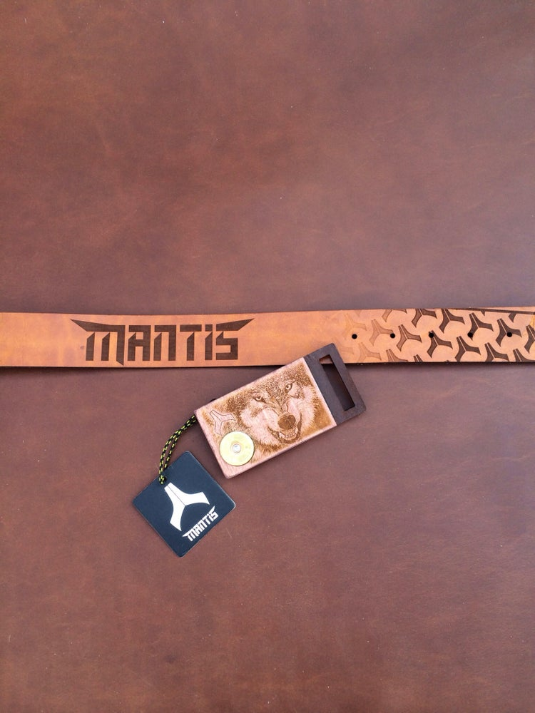 Image of Mantis Wolf belt & buckle combo