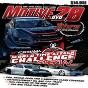 Image of 2013 WORLD TIME ATTACK  - MOTIVE DVD #20