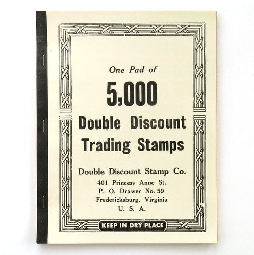 Image of 5,000 Discount Trading Stamps Book