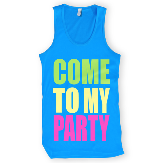 Image of Come To My Party Tank