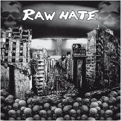 "Image of RAW HATE ""S/T"" 12"""