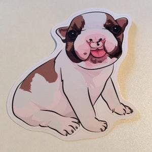 Image of Baby Bean Decal Sticker Small
