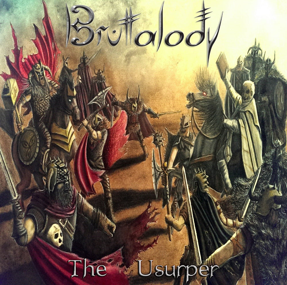 Image of BRUTALODY - The Usurper EP (Physical release)