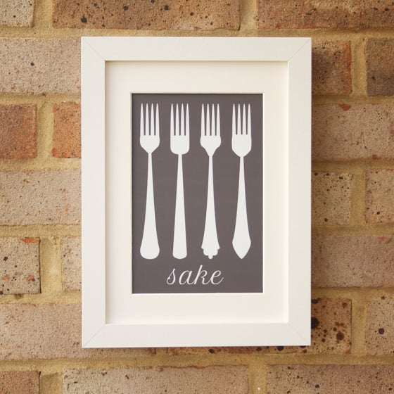 """Image of """"Four Forks"""" Print"""