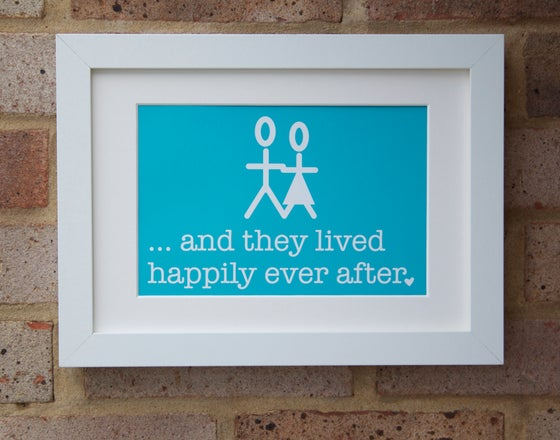 """Image of """"Happily Ever After"""" Print"""