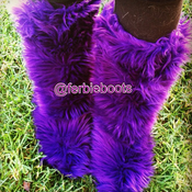 Image of PURPLE ADULT FERBIE