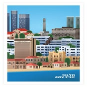 Image of Tel Aviv Icon: General View by Ron Nadel
