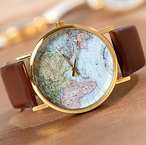 Image of CUTE MAP WATCH S0120