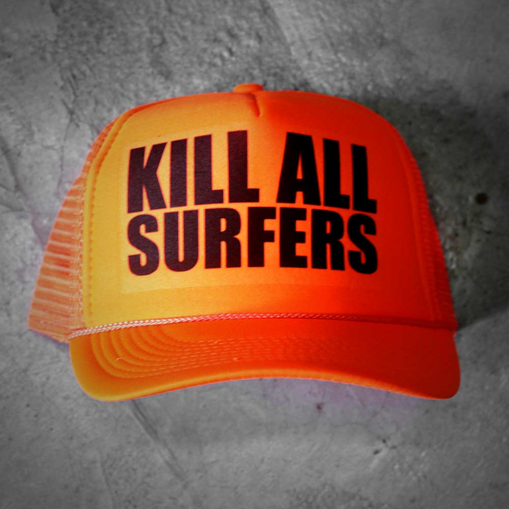 Image of KILL ALL SURFERS HAT ORANGE