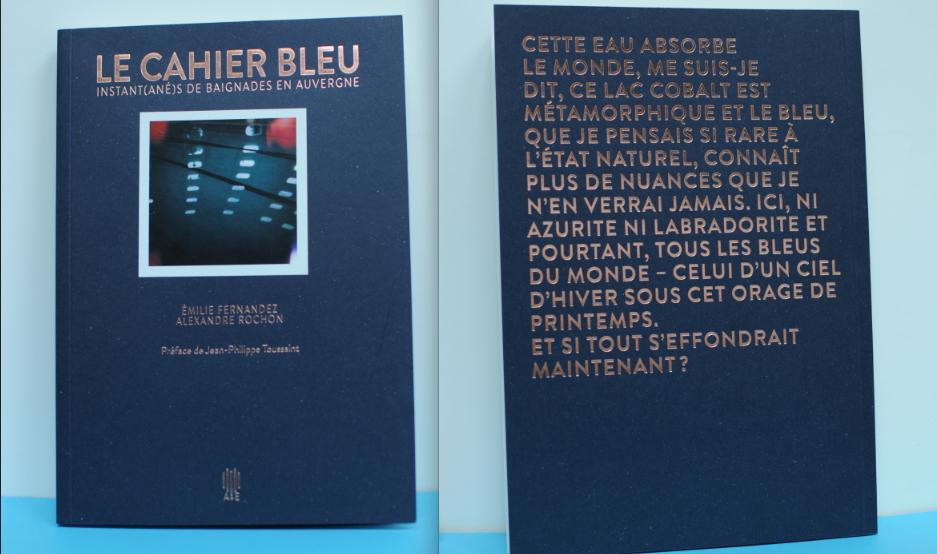 Image of Le Cahier bleu volume 1