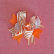 Image of Boutique Bow: Orange