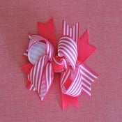 Image of Boutique bow: Hot Pink