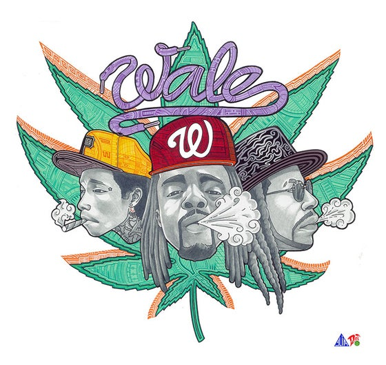 Image of 2013 - Wale Rotation