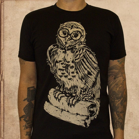 Image of Harry Potter Owl - discharge inks - unisex - new
