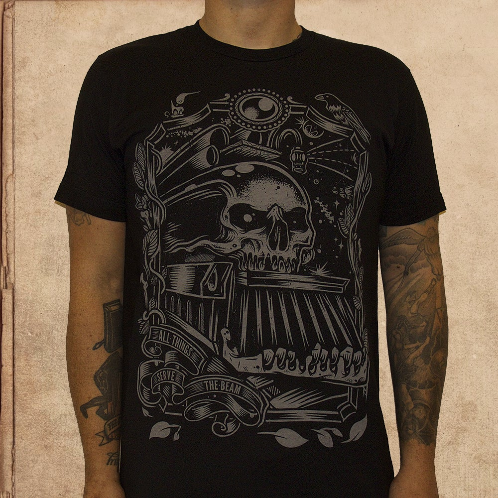 Image of the Wastelands - Dark Tower III - unisex - discharge ink - only XS/S/L left