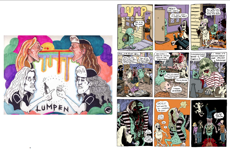 Image of #119 Lumpen Comics Issue